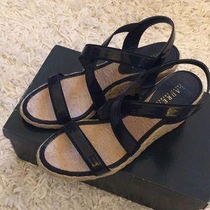 Ralph Lauren Shoes - Ralph Lauren Corianna Wedge Espadrilles
